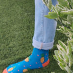 Ducky Blue Pineapple Fun Men Socks